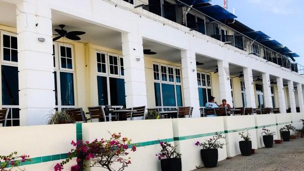 Shelter Bay Marina main restaurant.