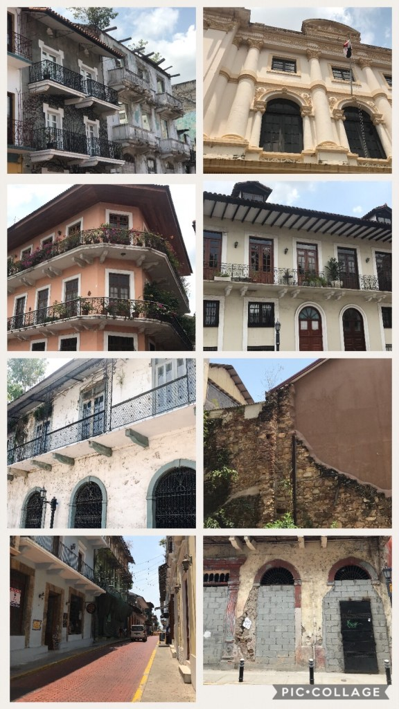 Buildings in Casco Viejo