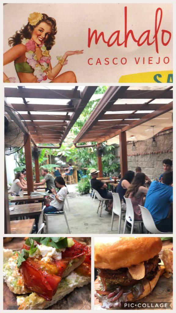 Mahalo Casco Viejo eatery