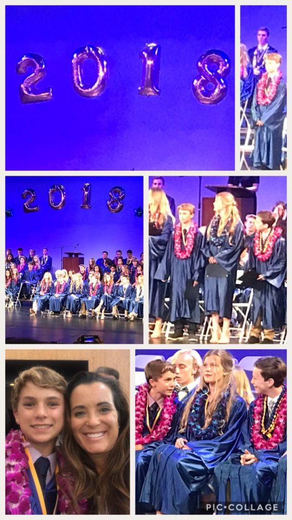 Cameron's Middle School Graduation