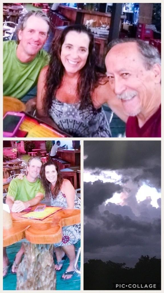Matt, Dad, and I at Barba Rosa