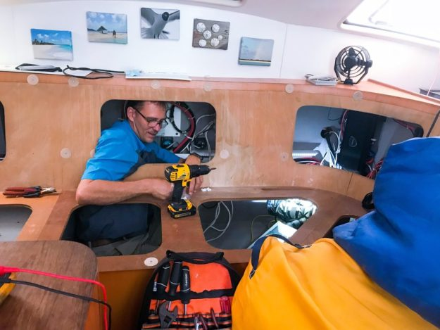 AG Marine get's into Tight Spaces