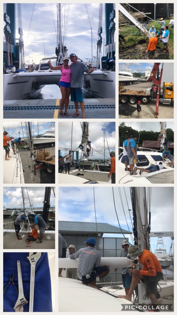 Stepping the Mast Takes a Village