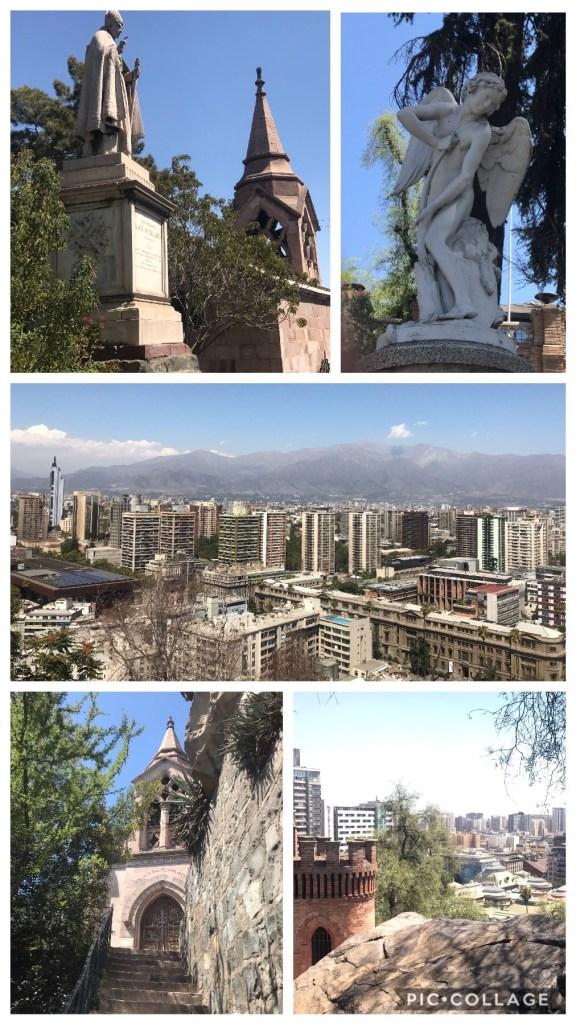 Cerro St. Lucia in Santiago