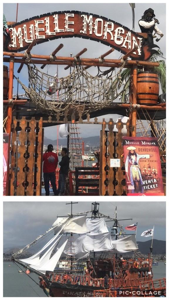 Muelle Morgran Pirate Ship