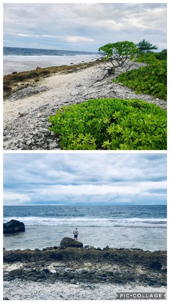 Pacific Ocean Shore Side