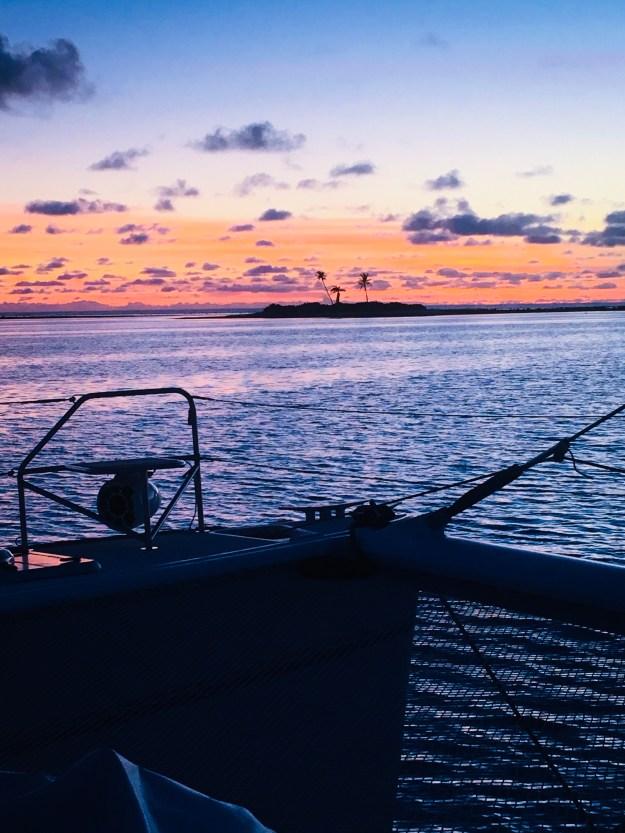 Sunrise at Three Palm Island