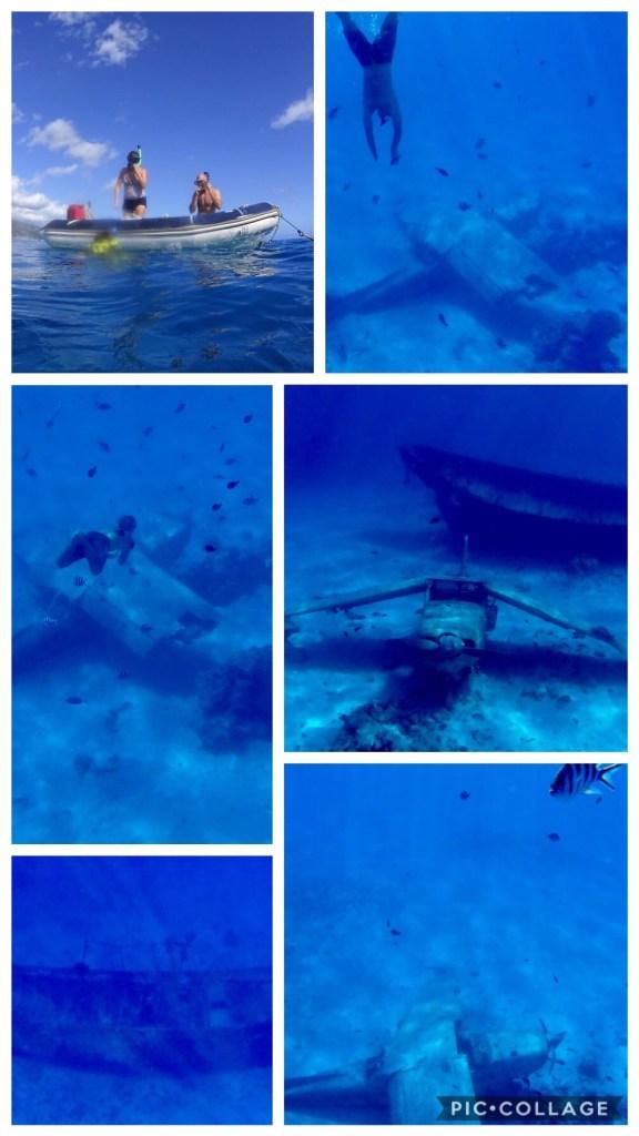 Cessna Snorkel Site in Tahiti