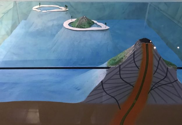 Making of an atoll