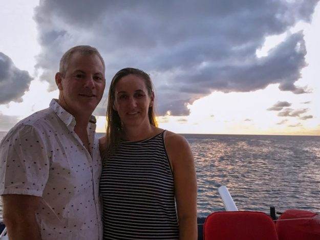 Josh and Sara Teitelman at Sunset