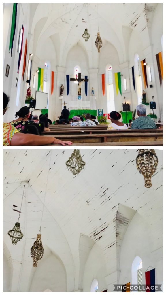Church on Makemo Atoll