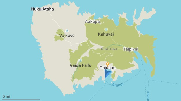 Nuku Hiva Island