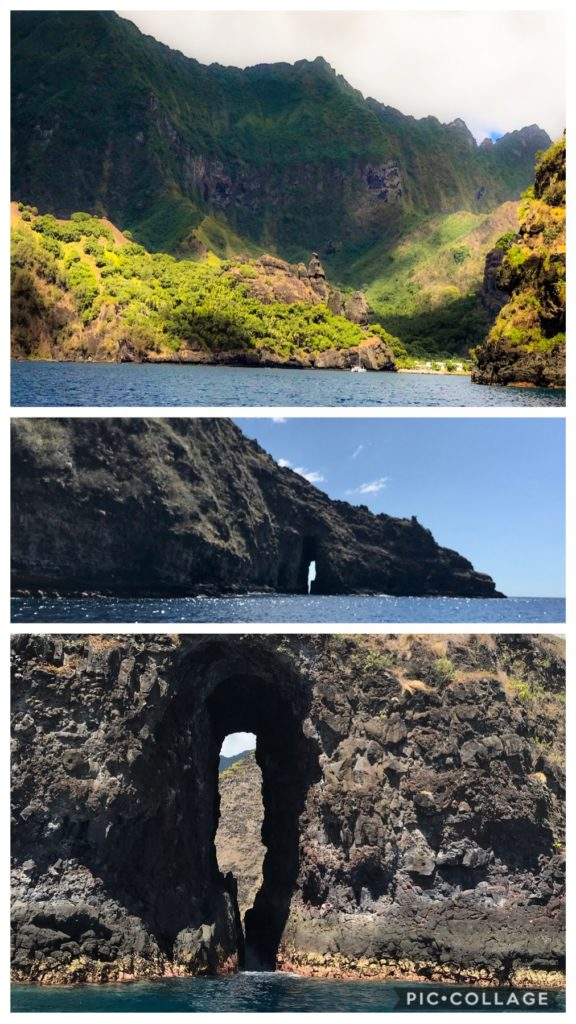 Cool cave formation in Bay of Virgins