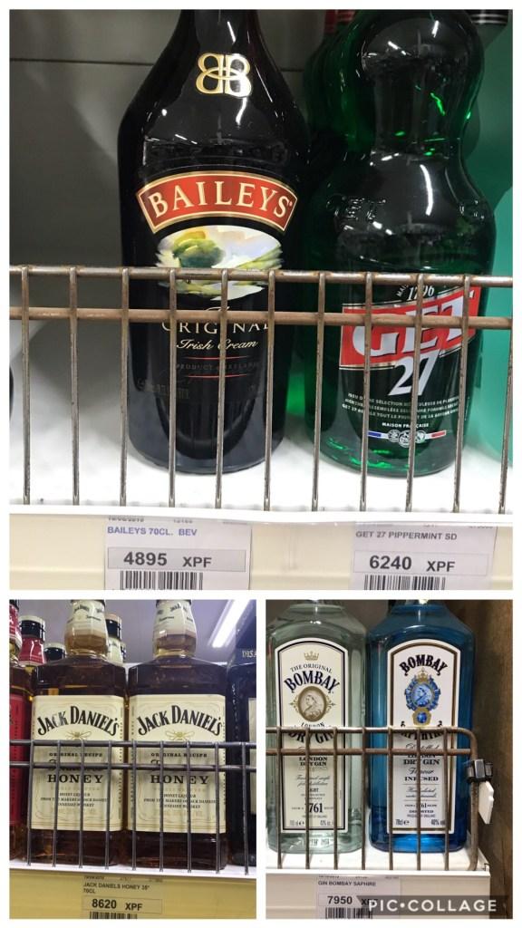 Expensive liquor