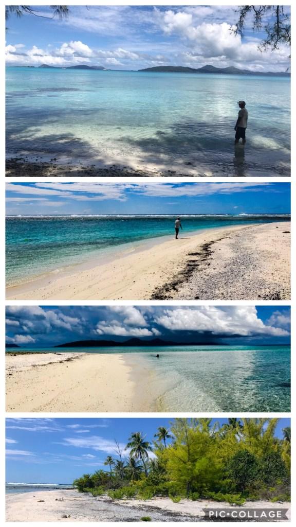 Beautiful beaches of Puaumu