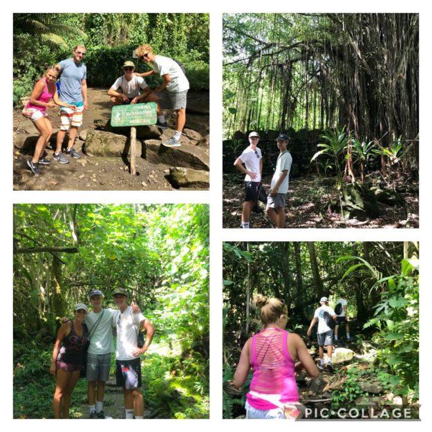 Hike to Marae in Huahine