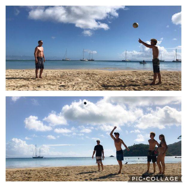 Huahine Iti Beach Day