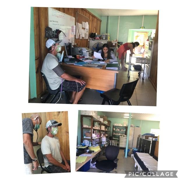 Clinic in Mangareva, Gambier
