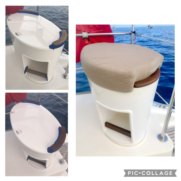 Starboard Helm Seat