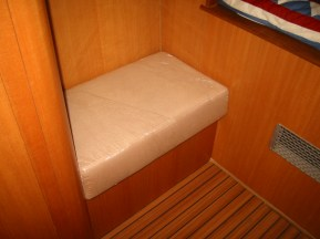 Master bench in master stateroom