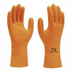 Luva de Segurança Super Orange Super Safety