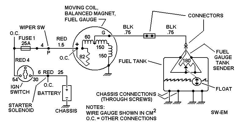 fuel gauge wiring schematic   27 wiring diagram images