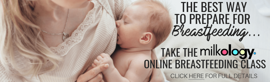 The bet way to prepare for breastfeeding is to take an online class!