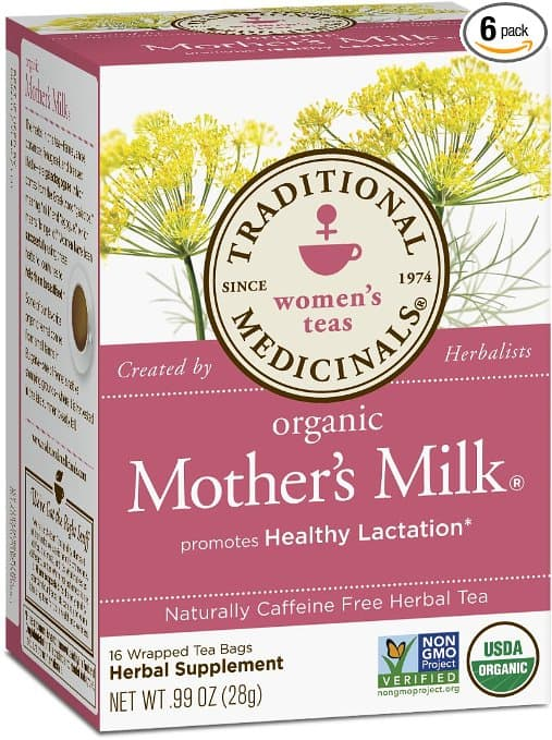 Mothers Milk tea- a must have to keep your milk supply high