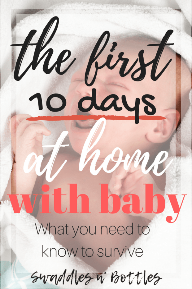 True Life: What the first 10 days at home with baby were REALLY like.