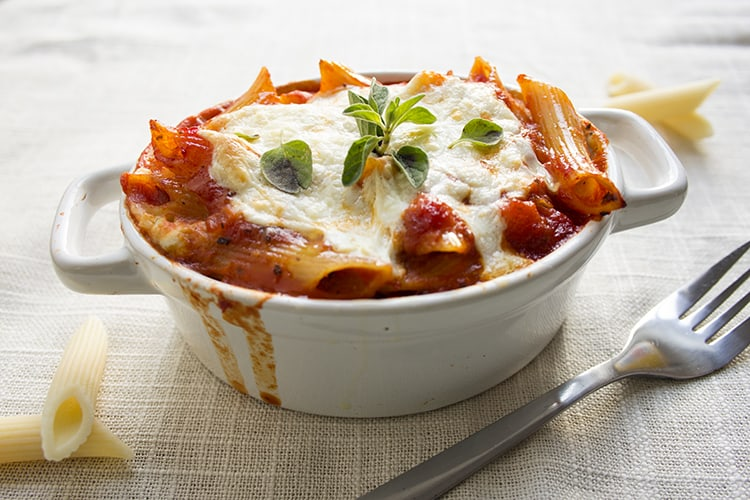 3 cheese penne bake- part of my pre-baby meal prep!