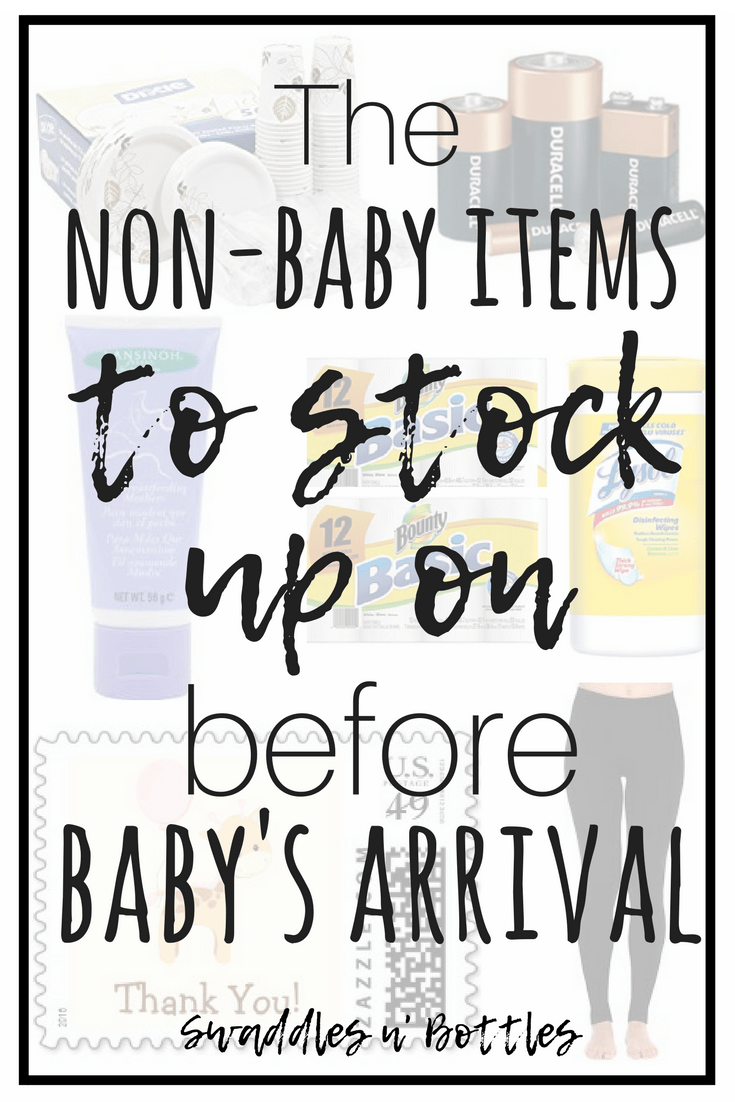 Non-Baby Items to Stock Up On Before Baby Arrives!