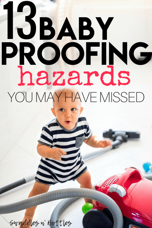 13 baby proofing hazards you may have missed