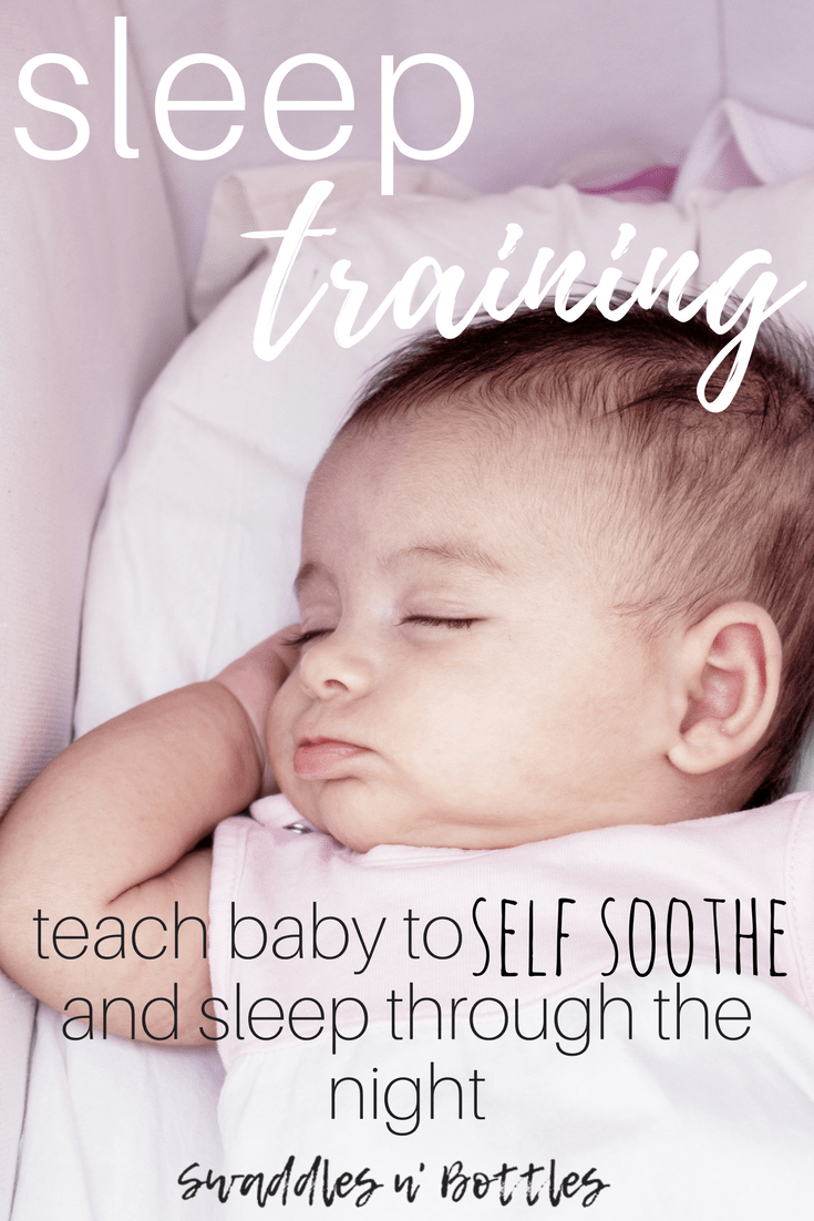 how to teach baby to sleep without swaddle