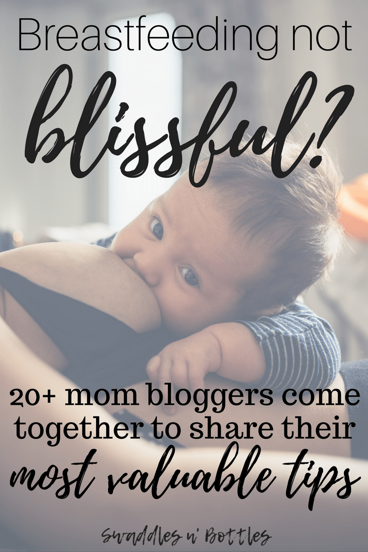 Breastfeeding Tips,  tricks and Strategies from 20 Mom Bloggers