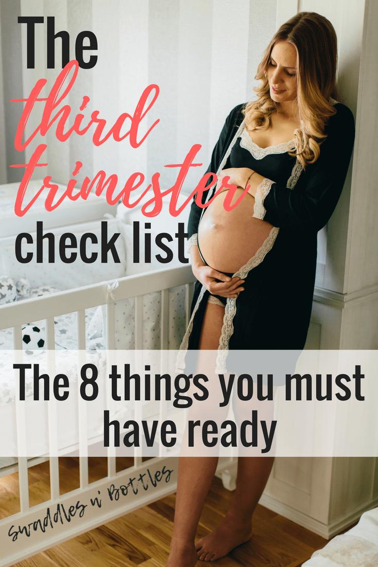 The Third Trimester Checklist