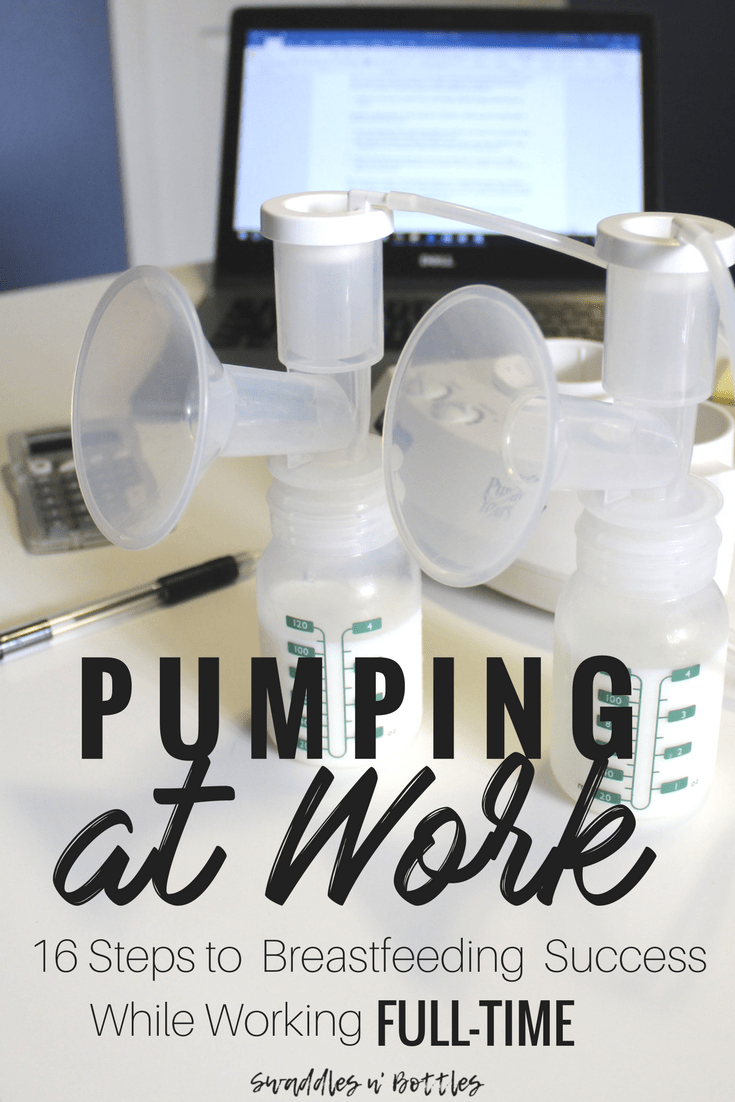 Pumping at Work: What You Need to Know to Make Breastfeeding While Working Full-Time a Success