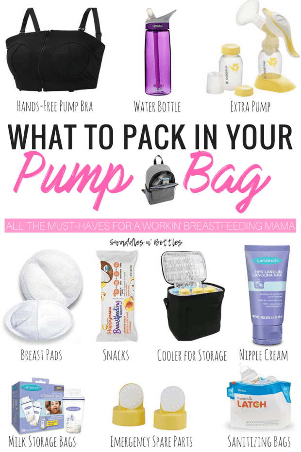 What To Pack in Your Pump Bag