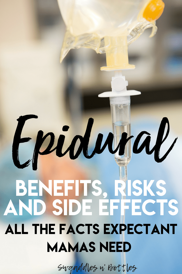 For many moms-to-be, there is one negative part about pregnancy that looms in the back of their minds: labor pain. To alleviate some of the discomfort during this time, many expectant mothers consider an epidural as their preferred pain relief method during labor. Here's all you need to know about the benefits, risks and side effects of an epidural.