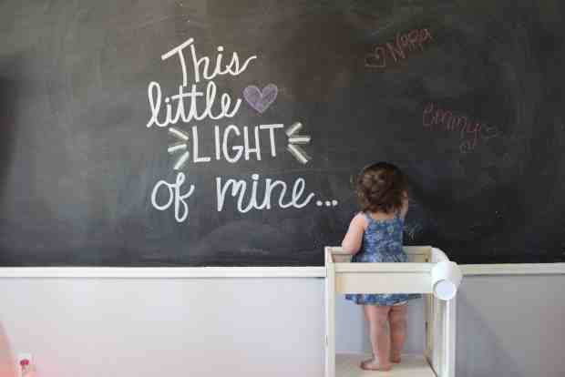 5 things you need to know before painting a chalkboard wall in your playroom