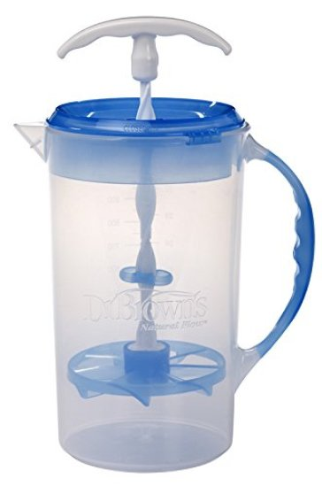 Dr. Browns Pitcher for making bulk formula and storing for the day