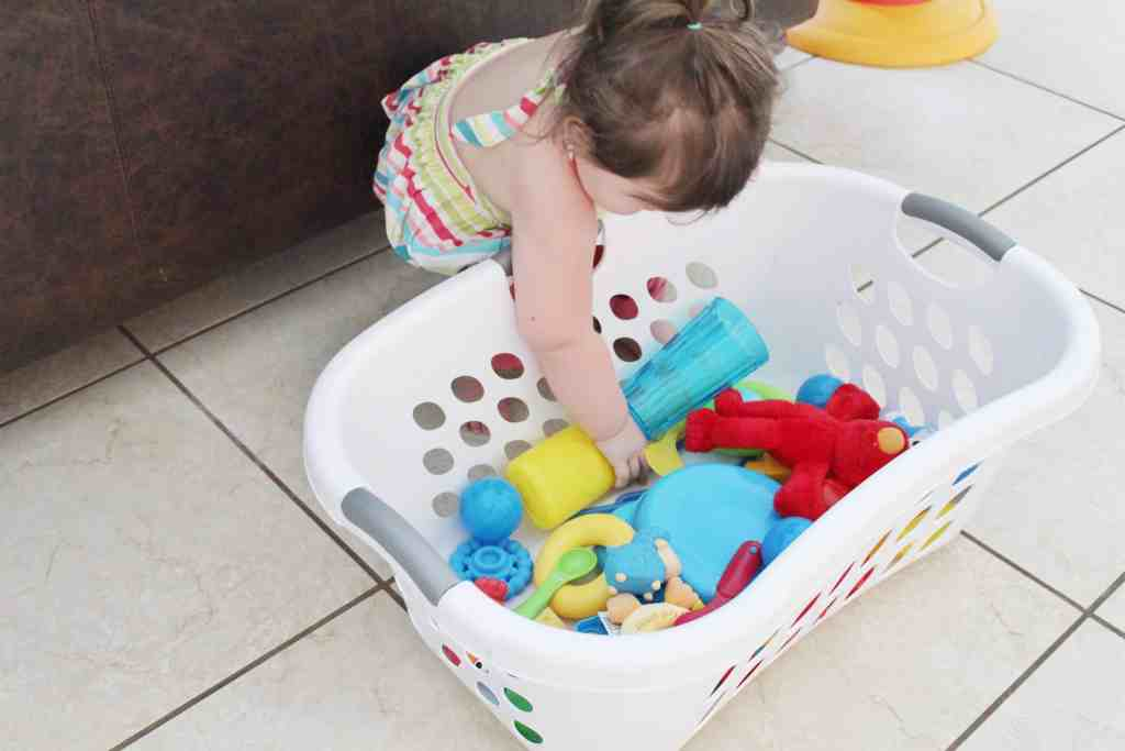Toy Color Sorting Activity