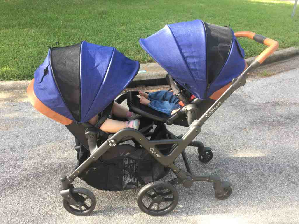 The best stroller for Two Under Two- the Contours Curve stoller!