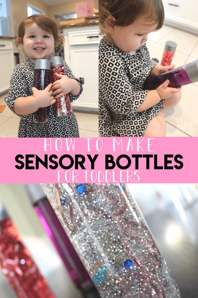 Sensory Bottles for toddler!