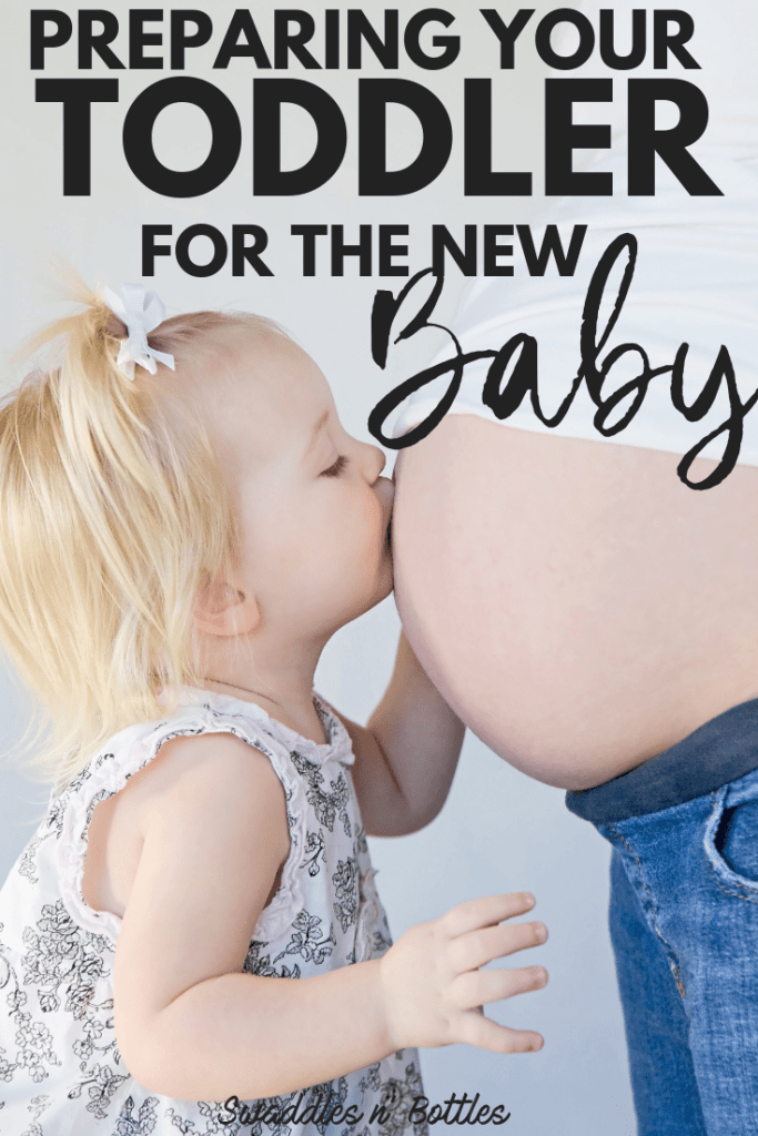 How to prepare your toddler for the new baby. Ways to make sure they don't feel neglected or defensive against the new addition to the family