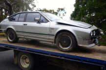 Alfa GTV6 bent up