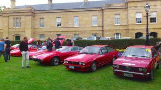 The red wall - Ferrari, Maserati and Alfa Romeo