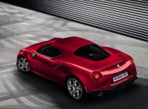Alfa Romeo 4C rear view