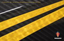 Koenigsegg Hundra Striping