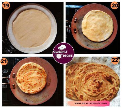 Lachcha paratha Recipe Step 6