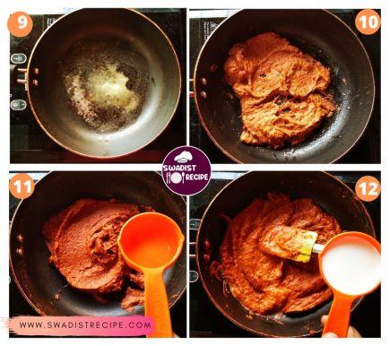 Paneer Butter Masala Recipe Step 3